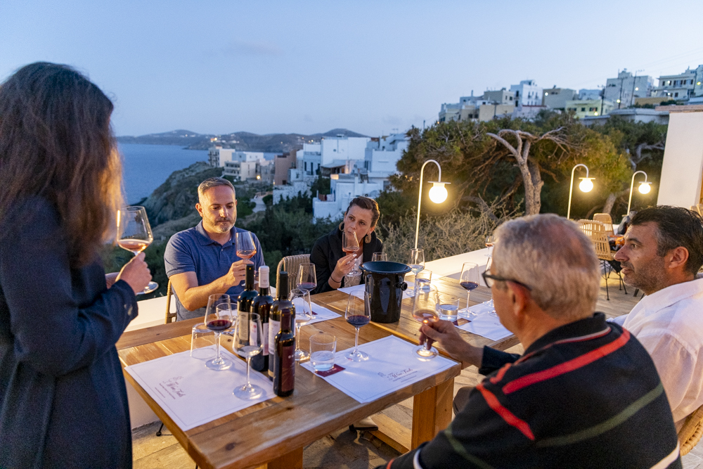 Wine & Cheese Pairing by the sea