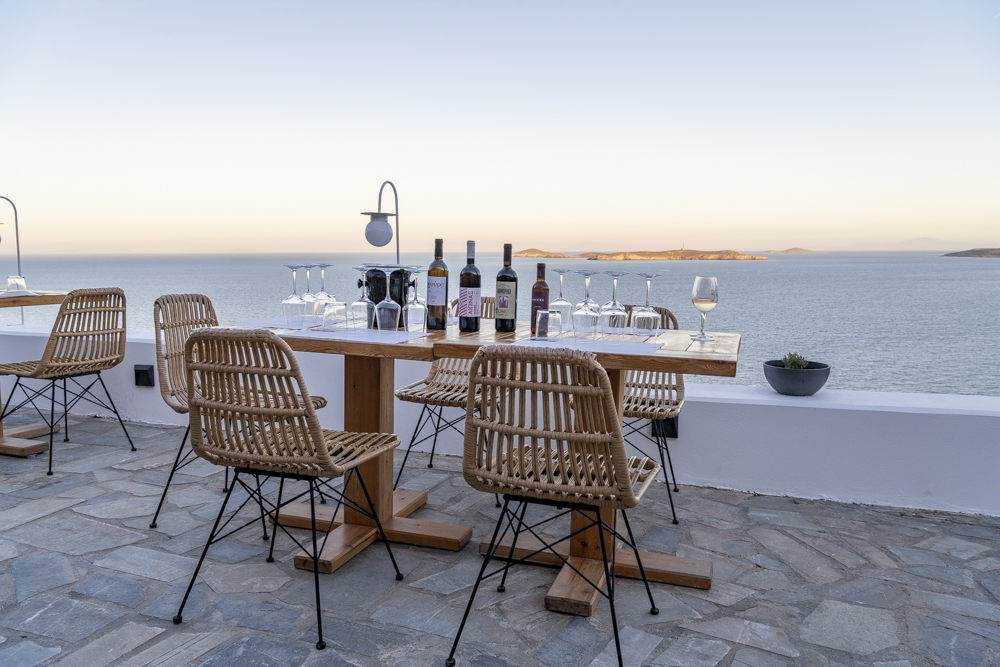 Wine & Cheese Pairing in Syros